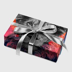 Бумага для упаковки Космический лев цвета 3D — фото 2