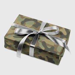 Бумага для упаковки Камуфляж: хаки цвета 3D — фото 2