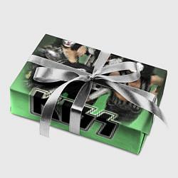Бумага для упаковки Kiss цвета 3D-принт — фото 2