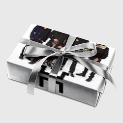 Бумага для упаковки Группа Пикник цвета 3D — фото 2