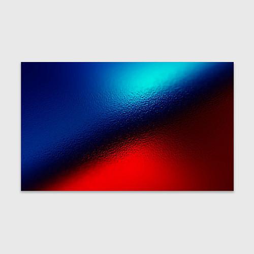 Бумага для упаковки Синий и красный / 3D – фото 1