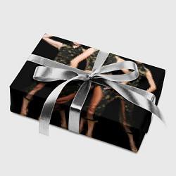 Бумага для упаковки Армейские девушки цвета 3D — фото 2