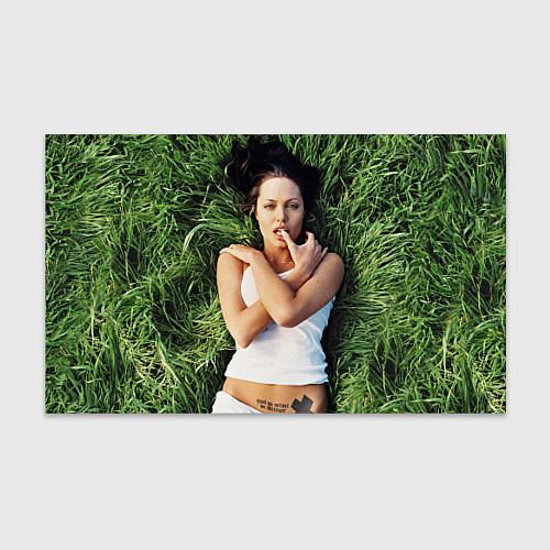 Бумага для упаковки Анджелина Джоли / 3D – фото 1