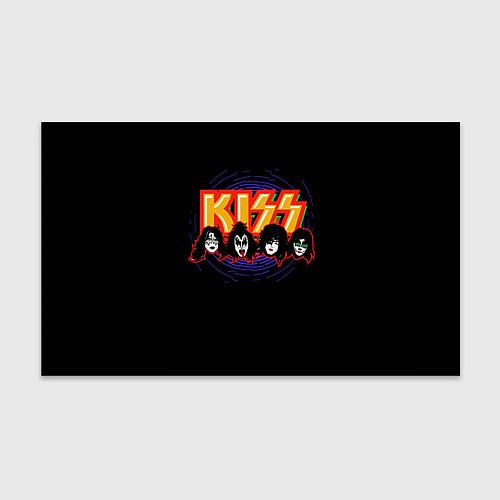 Бумага для упаковки KISS: Death Faces / 3D – фото 1