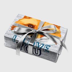 Бумага для упаковки Милая лисичка! цвета 3D — фото 2