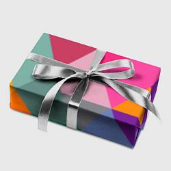 Бумага для упаковки Разноцветные полигоны цвета 3D — фото 2