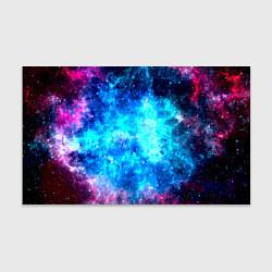 Бумага для упаковки Голубая вселенная цвета 3D — фото 1