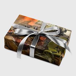Бумага для упаковки День победы цвета 3D — фото 2
