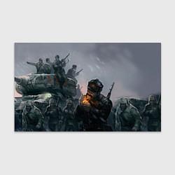 Бумага для упаковки Солдаты цвета 3D — фото 1