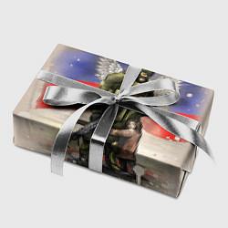 Бумага для упаковки Солдат и дитя цвета 3D — фото 2