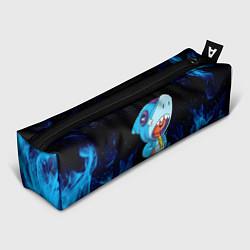 Пенал для ручек BRAWL STARS LEON SHARK цвета 3D — фото 1