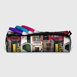 Пенал для ручек London doors цифровой коллаж цвета 3D-принт — фото 2