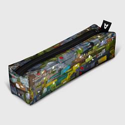 Пенал для ручек Геранд шоп-Мир танков цвета 3D — фото 1