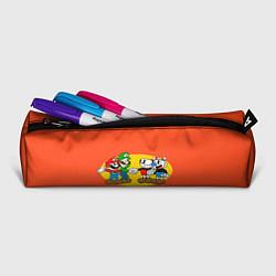 Пенал для ручек CupHead x Mario цвета 3D-принт — фото 2