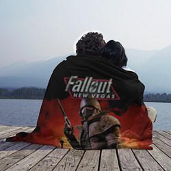 Плед флисовый Fallout: New Vegas цвета 3D-принт — фото 2