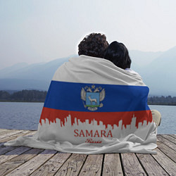 Плед флисовый Samara: Russia цвета 3D — фото 2