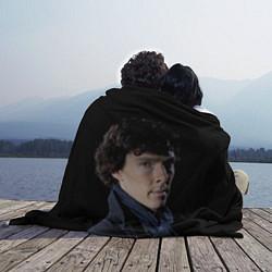 Плед флисовый Sherlock цвета 3D — фото 2