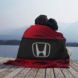 Плед флисовый Honda Sport цвета 3D — фото 2