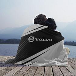 Плед флисовый VOLVO Вольво цвета 3D-принт — фото 2