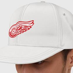 Кепка-снепбек Detroit Red Wings цвета белый — фото 1