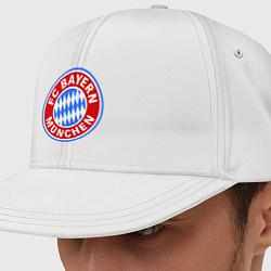 Кепка-снепбек Bayern Munchen FC цвета белый — фото 1