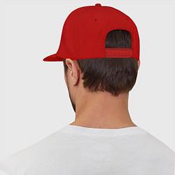 Кепка-снепбек Hollywood Undead цвета красный — фото 2