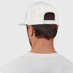 Кепка-снепбек Hollywood Undead цвета белый — фото 2