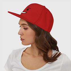 Кепка-снепбек Emmet цвета красный — фото 2