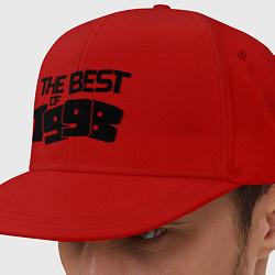 Кепка-снепбек The best of 1998 цвета красный — фото 1