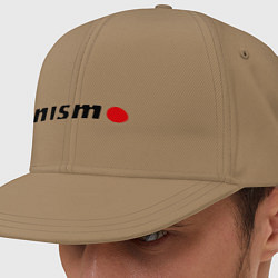 Кепка-снепбек Nissan nismo цвета миндальный — фото 1