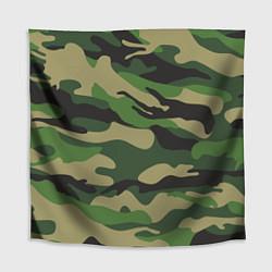 Скатерть для стола Камуфляж: хаки/зеленый цвета 3D-принт — фото 1