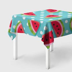 Скатерть для стола Арбузный рай цвета 3D — фото 2