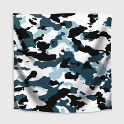 Скатерть для стола Камуфляж зимний: пятна цвета 3D — фото 1