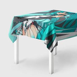Скатерть для стола Miku1 цвета 3D-принт — фото 2
