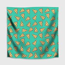 Скатерть для стола Стиль пиццы цвета 3D — фото 1
