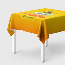 Скатерть для стола Happy Birthday цвета 3D — фото 2