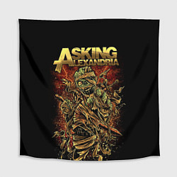 Скатерть для стола Asking Alexandria цвета 3D-принт — фото 1