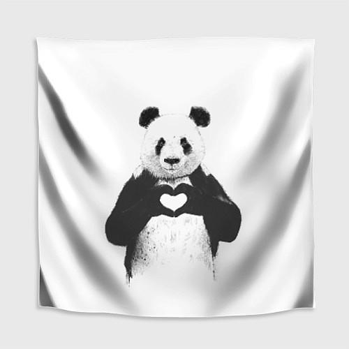 Скатерть для стола Panda Love / 3D – фото 1