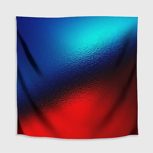 Скатерть для стола Синий и красный / 3D – фото 1