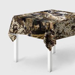 Скатерть для стола Спецназ 1 цвета 3D-принт — фото 2