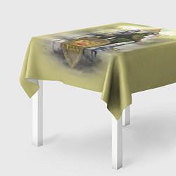 Скатерть для стола Имперская русь цвета 3D — фото 2