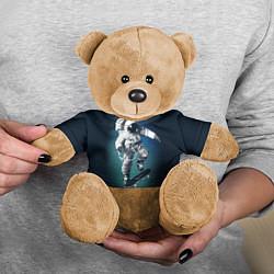 Игрушка-медвежонок Космический скейтбординг цвета 3D-коричневый — фото 2