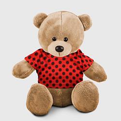 Игрушка-медвежонок Леди Баг: узор цвета 3D-коричневый — фото 1