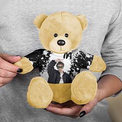 Игрушка-медвежонок СЛАВА МАРЛОУ цвета 3D-желтый — фото 2
