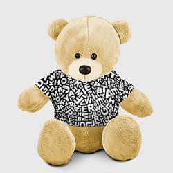 Игрушка-медвежонок Английский алфавит цвета 3D-желтый — фото 1