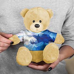 Игрушка-медвежонок Абстракция цвета 3D-желтый — фото 2