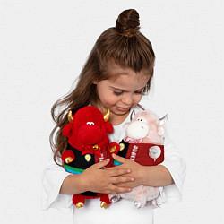 Игрушка-бычок Dagestan цвета 3D-красный — фото 2
