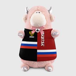 Игрушка-бычок Irkutsk, Russia цвета 3D-светло-розовый — фото 1