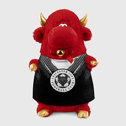 Игрушка-бычок FC Leicester City: Black Style цвета 3D-красный — фото 1