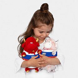 Игрушка-бычок Irkutsk: Russia цвета 3D-красный — фото 2